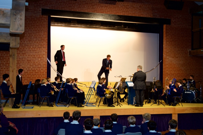 HRH Prince Harry opens Ludgrove School Theatre